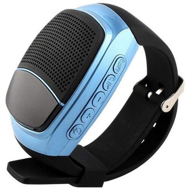 Reloj inteligente B90 con Bluetooth, reloj inteligente deportivo con llamadas manos libres con temporizador, alarma antipérdida, tarjeta TF, Radio FM y Mini Altavoz Bluetooth
