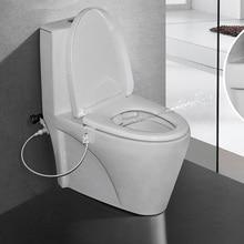 Flushing Sanitary Bidet Spray Bathroom Toilet Seat Water Wash Cleaner Device MSU99