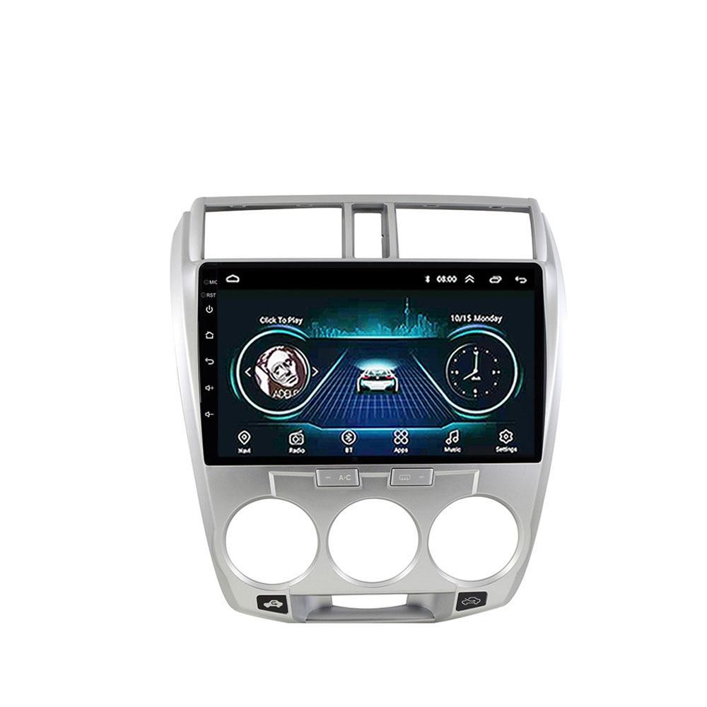 Eastereggs 2 DIN Car Multimedia Player Para Honda CITY 2008-2014 Android 8.1 Autoradio GPS Navigation Radio Cassete Recorde