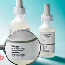 30ml zwykły bufet multi-technology peptyd Serum cel Anti-Aging Serum do twarzy ujędrniający przeciwzmarszczkowy nawilżający pielęgnacja skóry