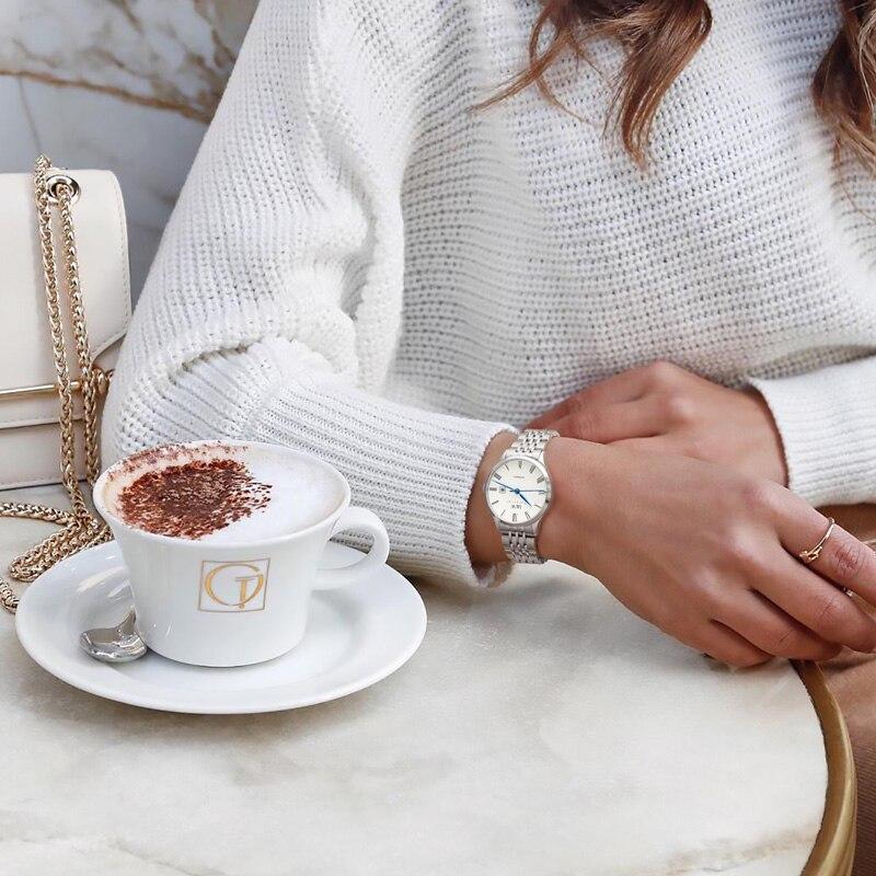 CARNIVAL Brand Women Fashion Mechanical Watch Ladies Luxury Waterproof Sapphire Business Automatic Wristwatches Relogio Feminino enlarge