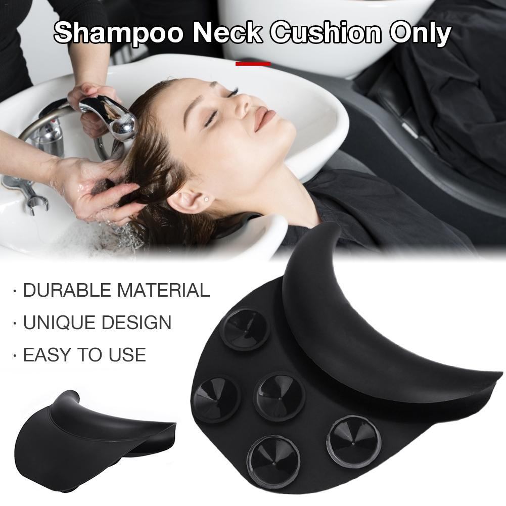 Para salón Spa lavador de belleza de cabello lavabo de silicona champú cuello almohada para descansar la cabeza Durable suave peluquería belleza accesorios para el cabello