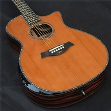 PS14 41 Inch Hoge Kwaliteit, Effen Cederhout Akoestische Gitaren, Gitaar Akoestische