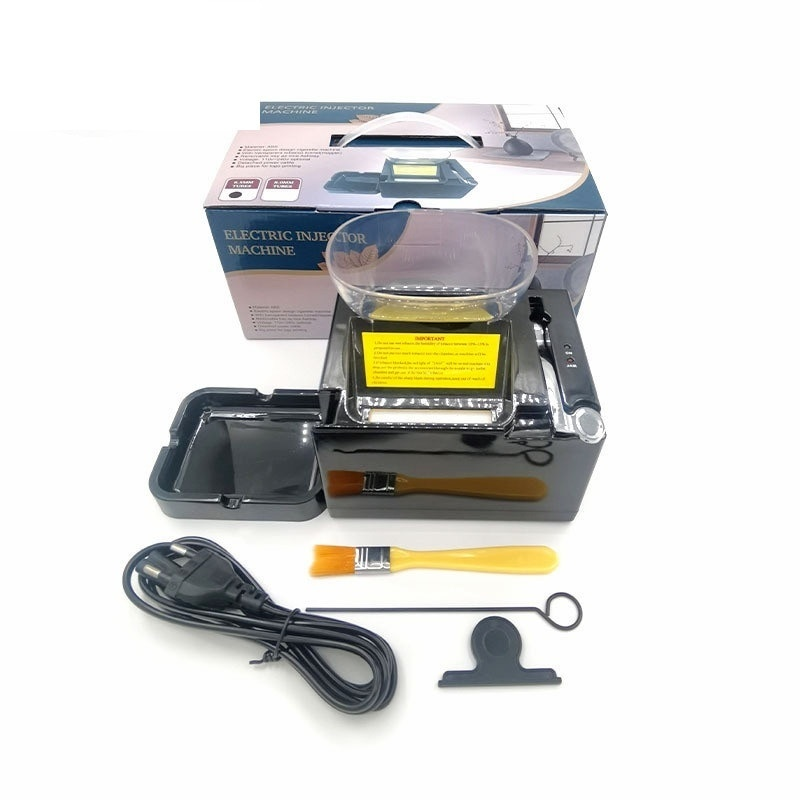 6.5mm Slim Tube Electirc Cigarette Wrapping Machine 220V EU-Plug High Speed Automatic Tobacco Maker Smoking Tool Men's Gadgets enlarge