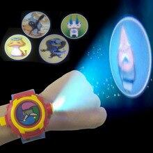 Japon Anime DX yo-kai montre-bracelet enfants jouet cadeau danniversaire Yo Kai projet de Projection 24 chiffres montre électronique cadeaux de noël