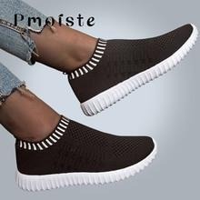 Femmes baskets maille respirant tricot femme Tennis chaussures femme 2020 vulcaniser chaussures marche grande taille 41-43 chaussures décontractées