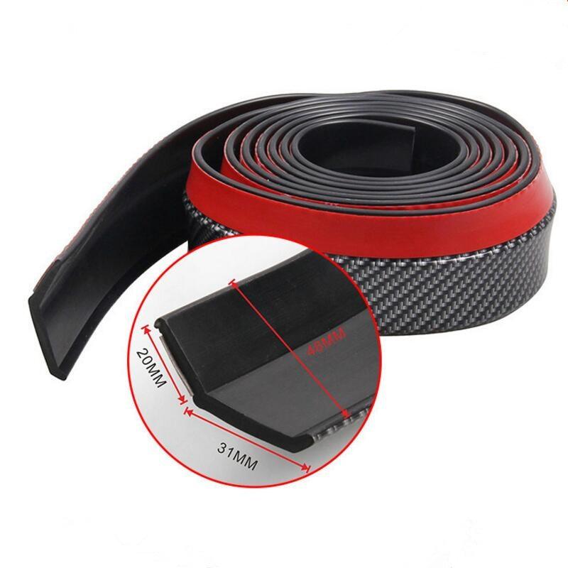 Estilo do carro de borracha amortecedor lábio splitter saia protetor cinta para lexus rx300 rx330 rx350 is250 lx570 is200 is300 ls400