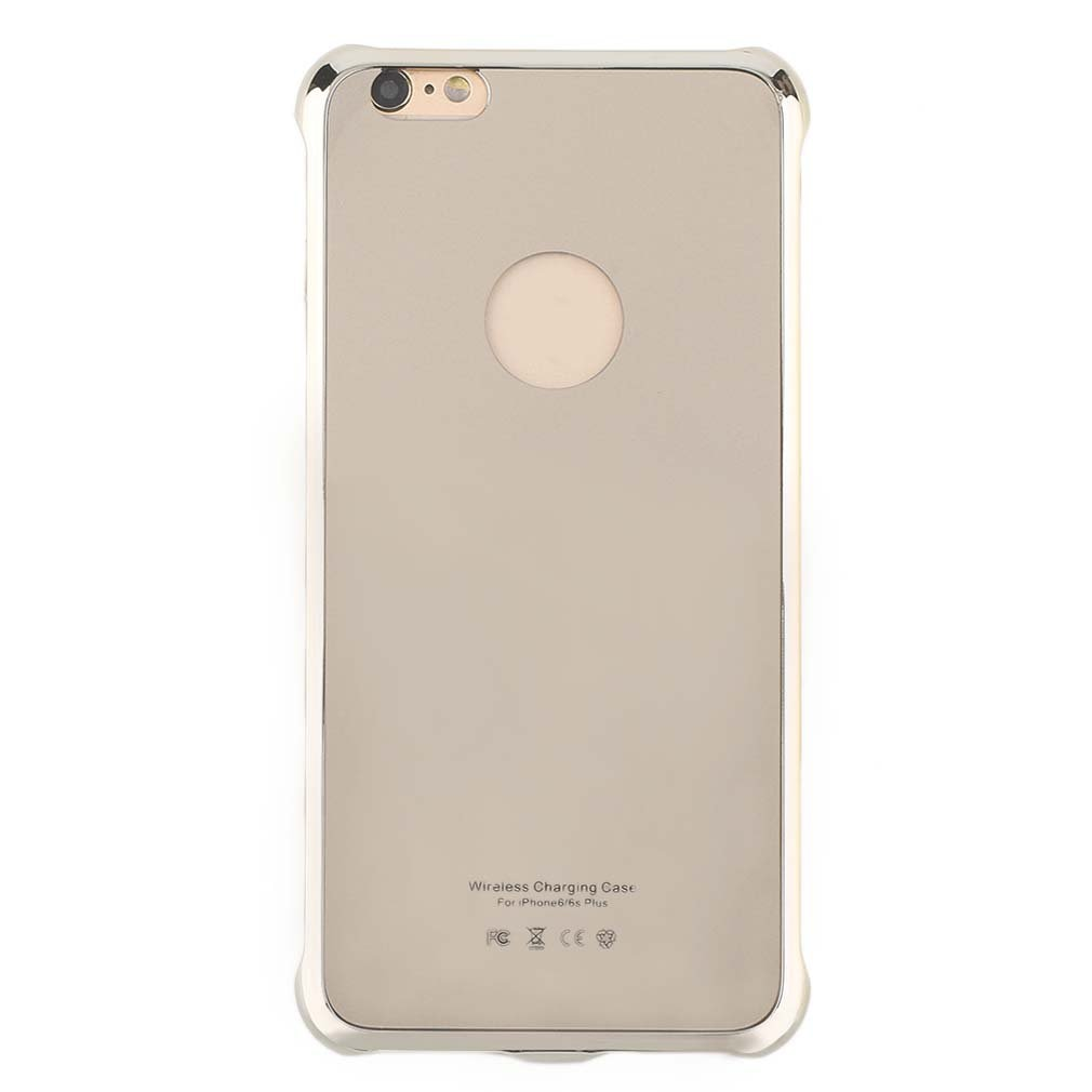 Práctico estuche de carga inalámbrico de Color sólido para teléfono móvil, funda protectora de carga para teléfono, funda adecuada para Iphone