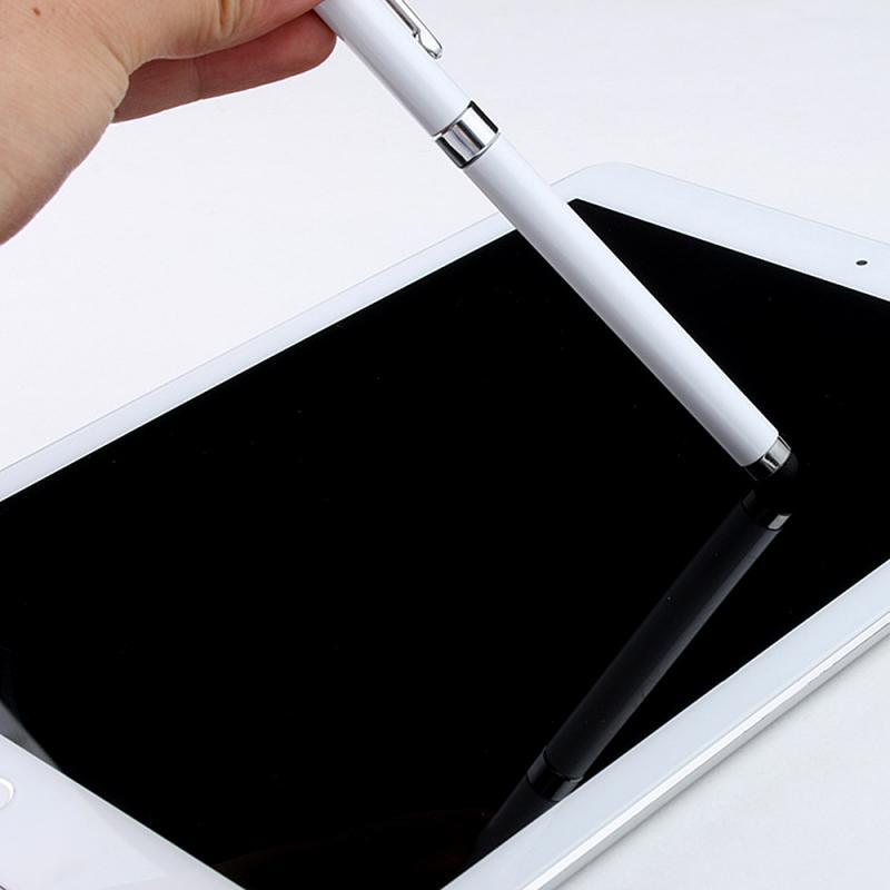 Stylus 2 In 1 Voor Smartphone Tablet Touch Pen Tekening Android Mobiele Telefoon Screen Stylus Unive
