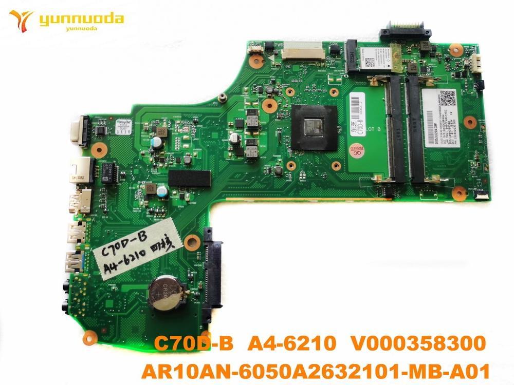 الأصلي لتوشيبا C70D-B اللوحة المحمول C70D-B A4-6210 V000358300 AR10AN-6050A2632101-MB-A01 اختبار جيد شحن مجاني