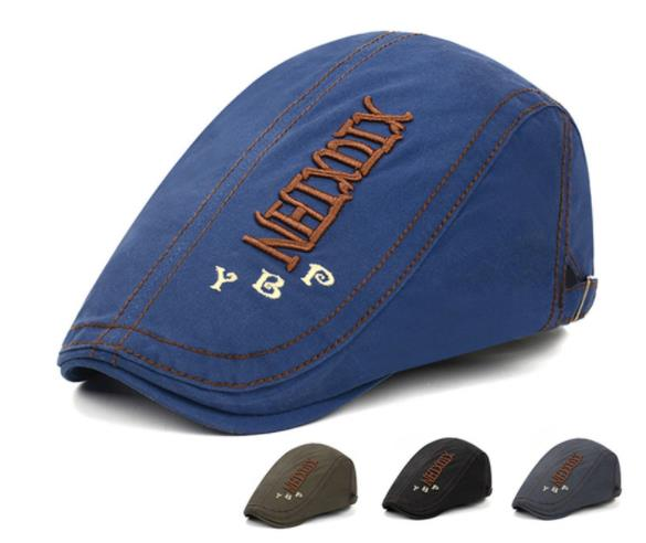 2020 Newest Berets Caps  Summer outdoor Sports Cotton For Men Casual Peaked embroidery Hats Casquette Cap