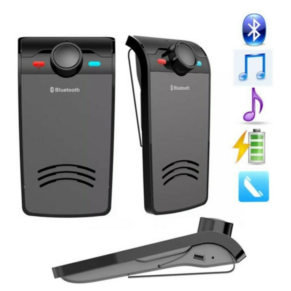 Hands free kit Bluetooth Car Wireless Speaker portable speaker enlarge