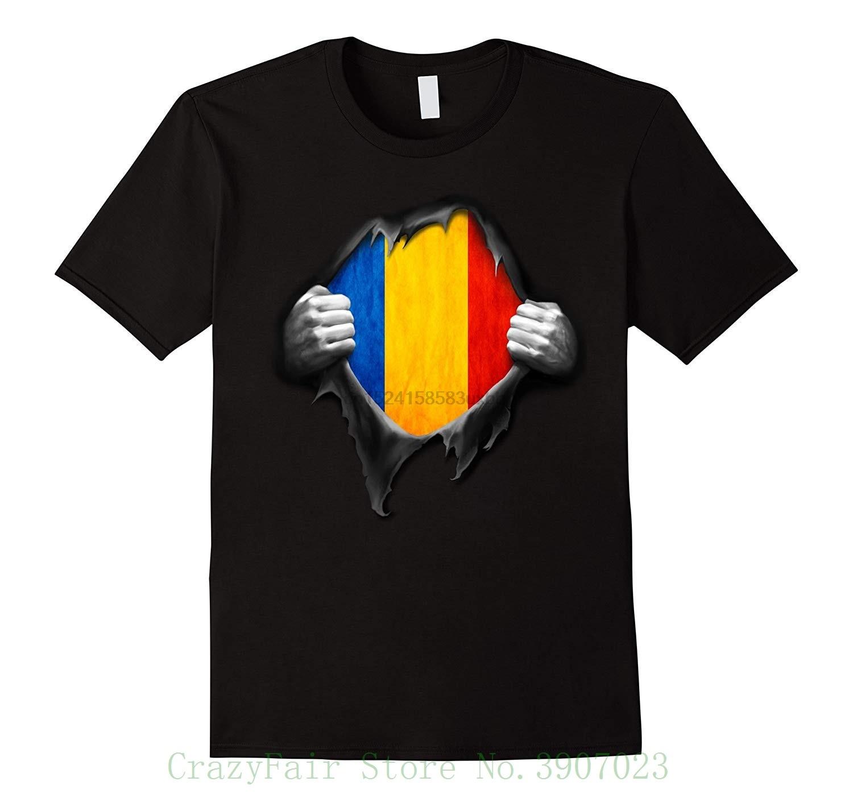 Romania Flag T Shirt. Proud Romanian Printed Summer Style Tees Male Harajuku Top Fitness Brand Clothing