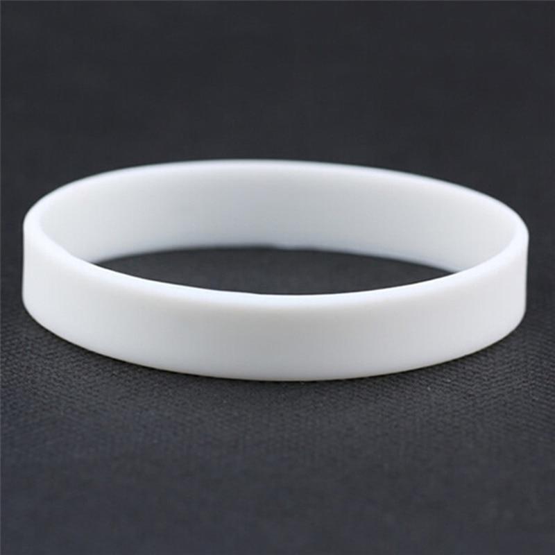 Luminous Silicone Bracelets Bangles Women Fluorescent Rubber Fitness Wristband Bracelet New Sports Best Friend Printed Letters