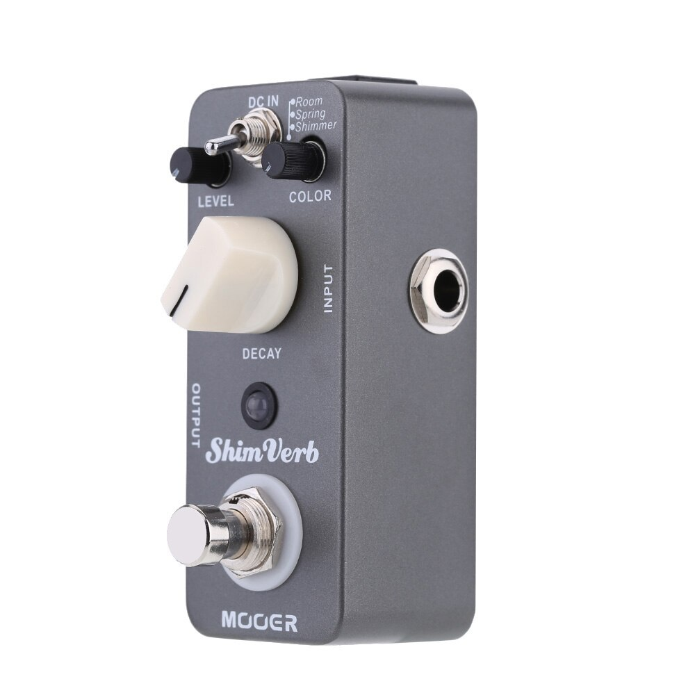 Mooer Mrv1 Shim Verb Effect Guitar Pedal Accessories for Guitar Processor True Bypass Reverb Delay Decay Pedal Effector enlarge