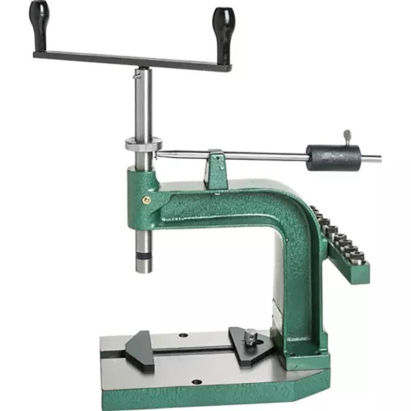 Ручная резьбонарезательная машина, настольный резьбонарезающий станок с ручным приводом, маленький резьбонарезающий инструмент «сделай сам»