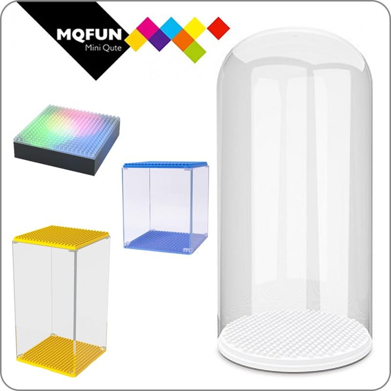Wisehawk Mini Blocks Lighting Display Base Protection Case Box For Plastic Diamond Building Bricks Diy Micro Action Figure Show