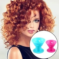 blue pinksmall silicone hair curlers set 10 pack magic hair rollers 1 6 inch no clip silicone curlers for women and kids