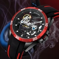 new fully automatic mechanical tourfy watch full hollow mens watch sn186