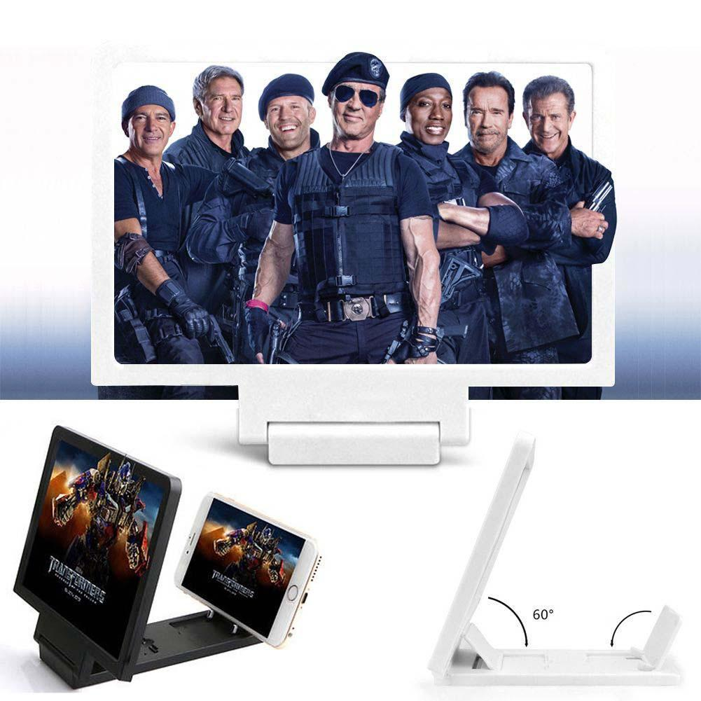 Novedad de 2019, amplificador de pantalla 3D HD para teléfono móvil, lupa para ver películas, pantalla HD, amplificador de pantalla para teléfonos, amplificador de pantalla