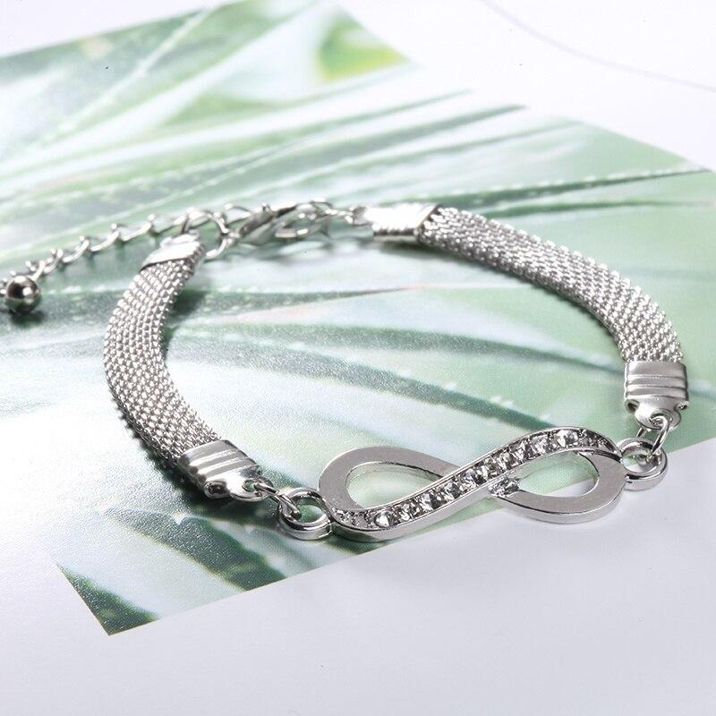 Nach Gepaart Armband Männer Paar Armband für Frauen Endlose Liebe Edelstahl Armreifen Geschenk für Besten Freund Mode Schmuck