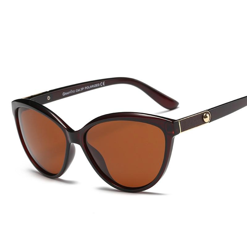 2020 Luxury Brand Designer Women Sunglasses Polarized Cat Eye Lady Vintage Sun Glasses Female Driving Eyewear Oculos De Sol