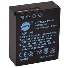 Batterie Rechargeable Li-ion DSTE BLH-1 1750 mAh pour appareil photo E-M1X OLYMPUS EM1 MARK II
