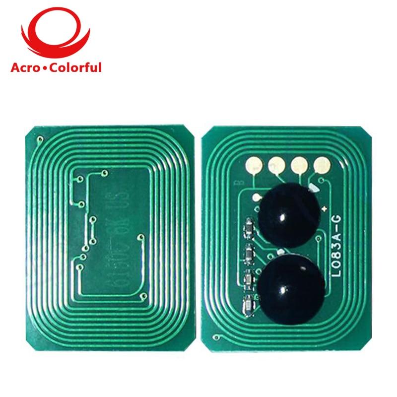 Chip de tóner de reinicio automático 42918976 42918975 42918973 42918974 Universial para cartucho de impresora copiadora láser INTEC XP2020