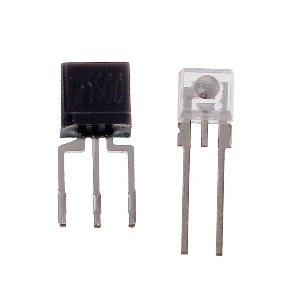 2 pçs/set Rato Codificador Óptico Interruptor Fotoelétrico para Logitech G300 G500 G700 G9X M950 etc