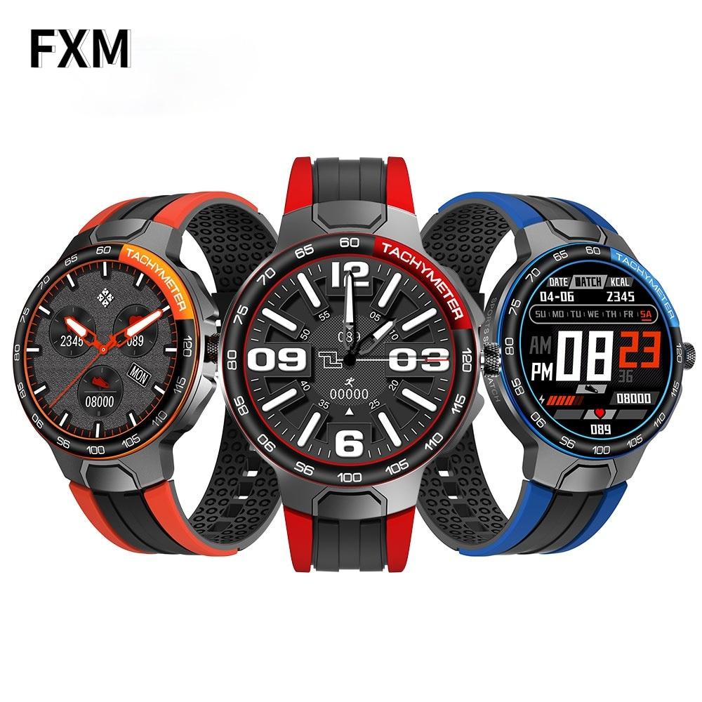 2021 Smart Watch Men Sports Watches IP68 Waterproof GPS Track Heart Rate Blood Pressure Weather Smartwatch Relogio masculino
