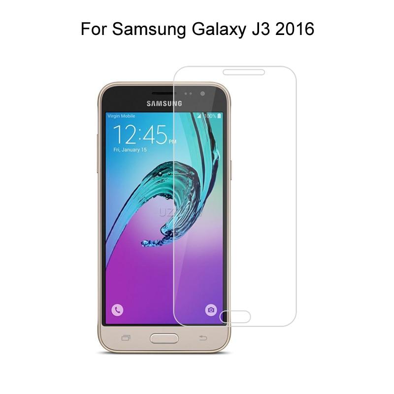 Vidro temperado para samsung galaxy j3 2016 j320f j320a j3109 protetor de tela película protetora de vidro para samsung galaxy j3 2016