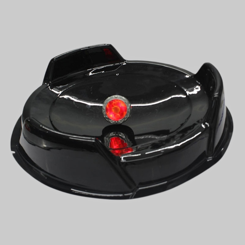 2pcs/set New Durable Attack Battle Top Plate Black Stadium Combat Arena Beyblade Bey Toy enlarge