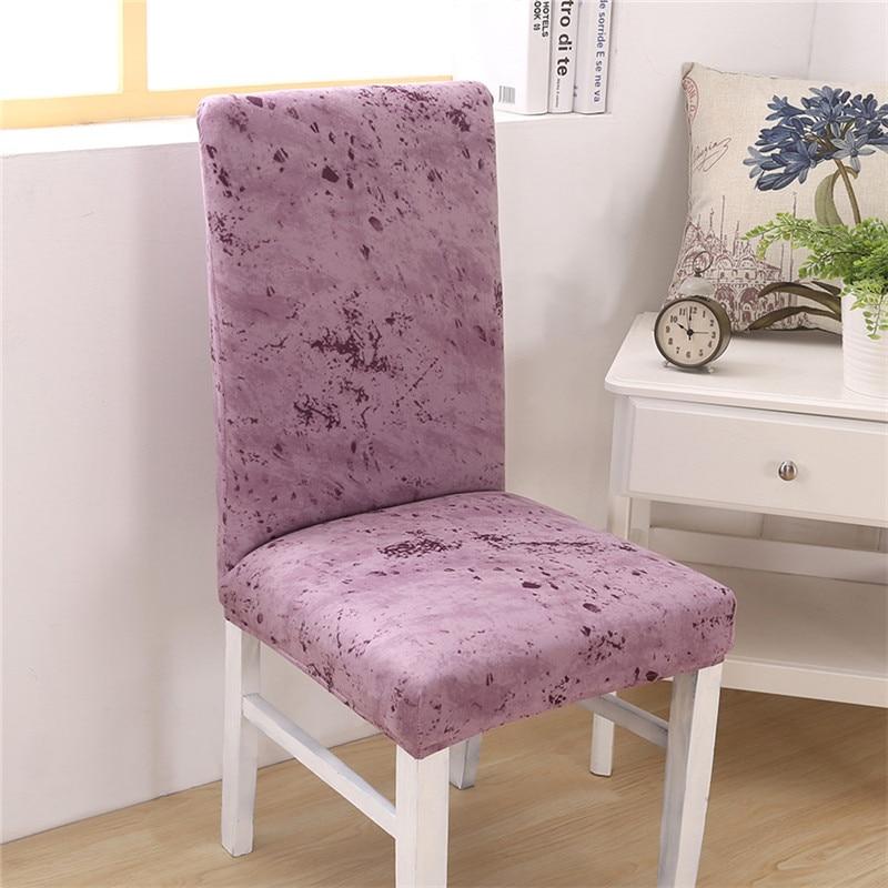 Capa de cadeira elastano elástico para banquete de casamento cadeira de escritório moderno removível anti-sujo housse de chaise capas de cadeira