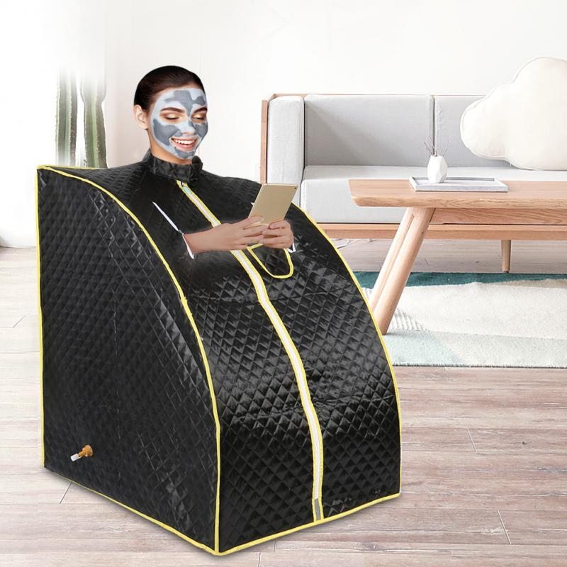Sauna Shower Cabin Steam Sauna Portable Sauna Room Beneficial Steam Sauna Weight Loss Hot Tub Steam Generator Outdoor Spa