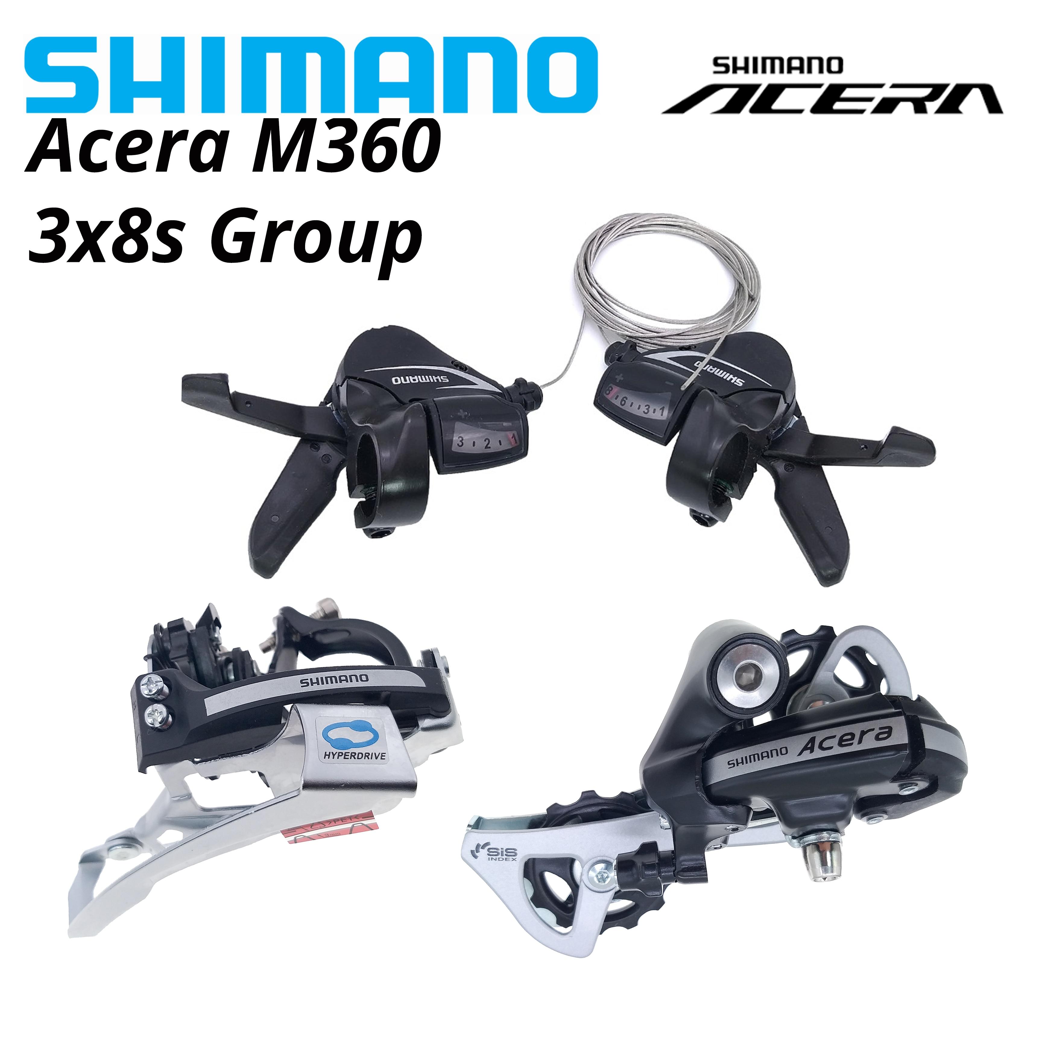 SHIMANO-palanca de cambios de FD-M360 para bicicleta palanca de cambios de 24v...