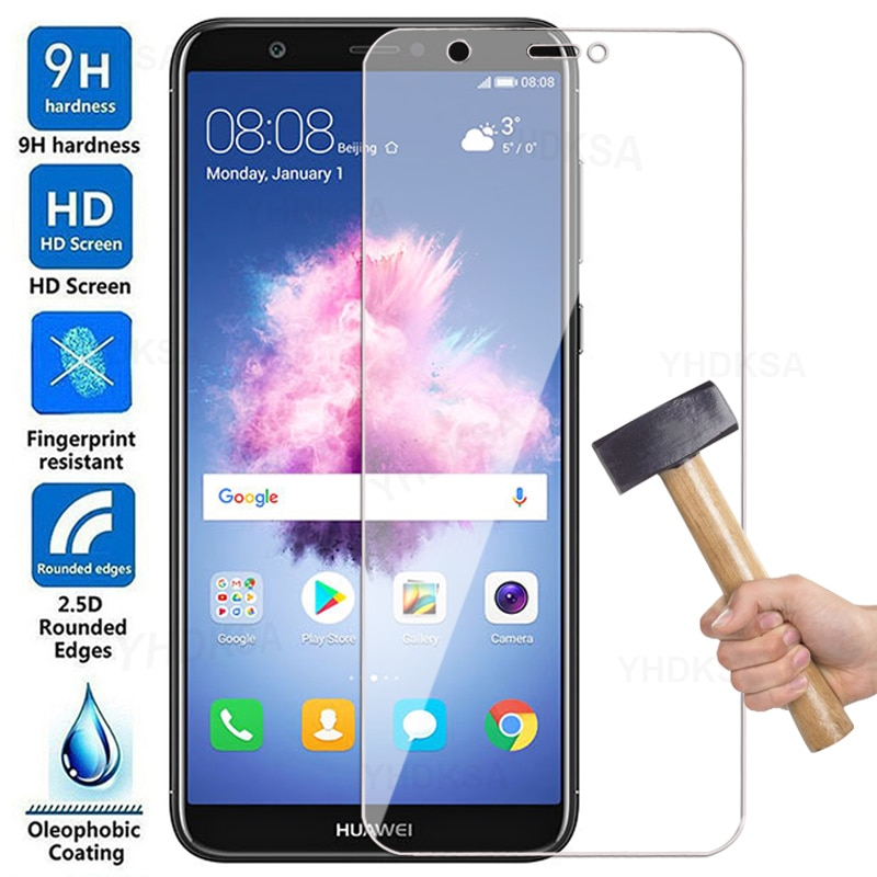 9D Full Tempered Glass For Huawei P smart 2018 P10 Plus P20 Pro Screen Protector On Honor 8 9 10 Lit