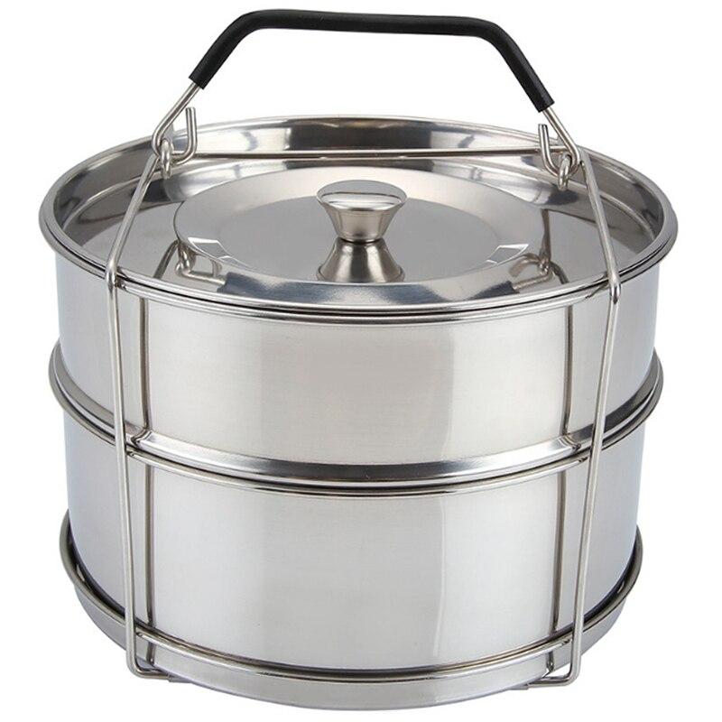 Panela de aço inoxidável empilhável-304 aço inoxidável vapor grid pressão fogão a vapor acessórios fogão de pressão
