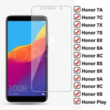 9H Protective Glass For Huawei Honor 7A 7X 7C 7S Tempered Screen Protector Glass Honor 9X 9A 9C 9S 8