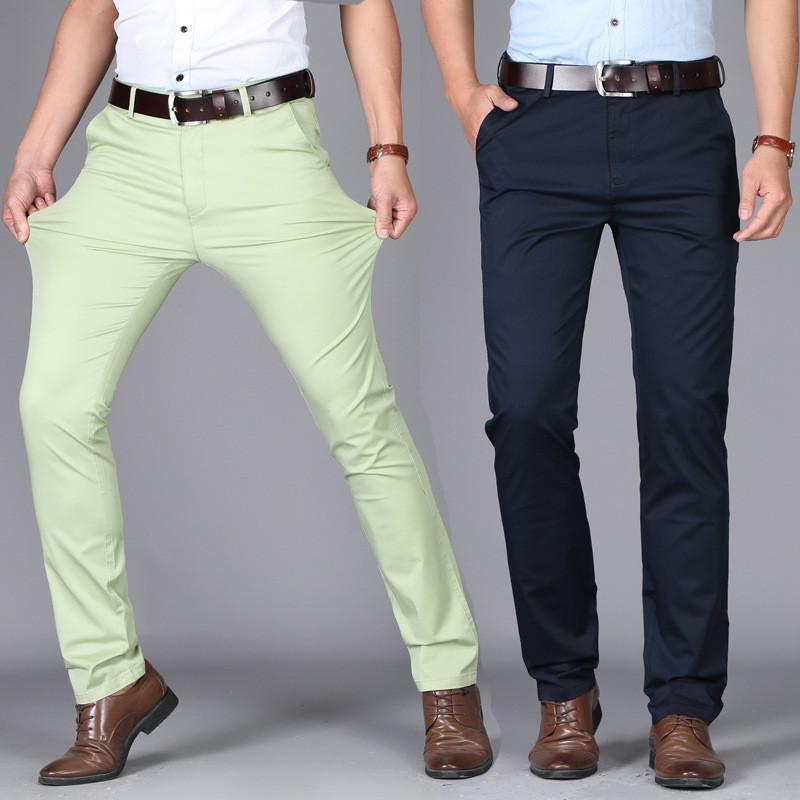 Pantalones de traje de oficina de alta calidad y pantalones formales para...