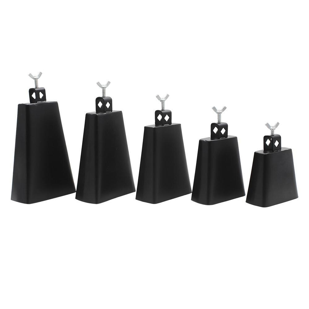 Instrumentos de percussão para vaca, instrumentos de percussão personalizados 4/5/6/7/8 Polegada de aço metal