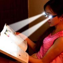 Gafas de lectura multifuerza con LED Unisex, lentes de lectura de dioptrías con lupa, iluminadas, Unisex
