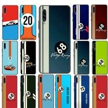 Gulf Racing Silicone Phone Case For Samsung Galaxy Note 8 9 10 Plus Lite A51 A71 A81 A91 A01 EU A11
