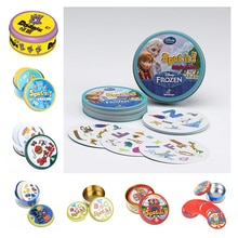 New Frozen HP spot it shalom and dobble card game table Board Game For Dobbles Kids Spot Cards It Go