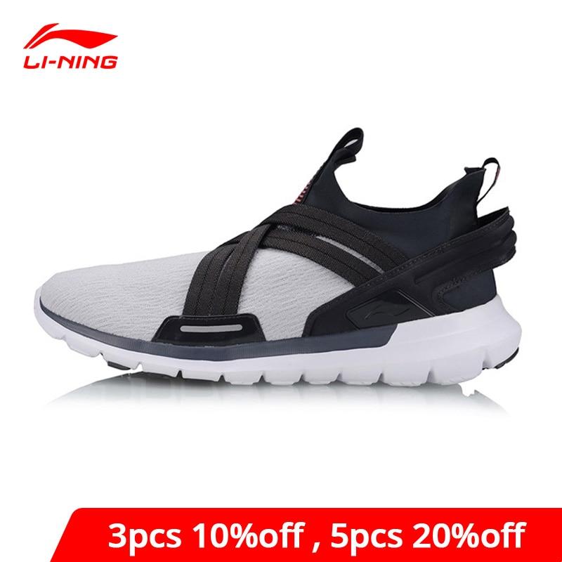 Li-Ning Men FLEXRUNNING V2 Running Shoes Breathable Cushion Flexible LiNing li ning Comfort Sport Shoes Sneakers ARKP003 XYP920