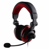 gaming headset headphone with microphone for ps4 xboxone deep bass sound over ear headphones with soft earmuffs