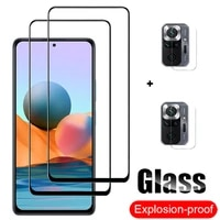 9d protective glass on xiaomi redmi note 10 pro tempered glass redmi note10 pro 10s 5g screen protector redmi note 10 glass film