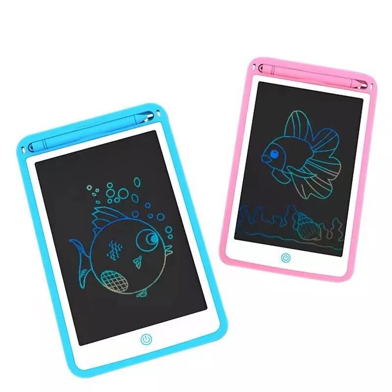 Электронная ЖК-доска для рисования, 12 дюймов, цифровой графический планшет для рисования, электронный планшет для письма с ручкой