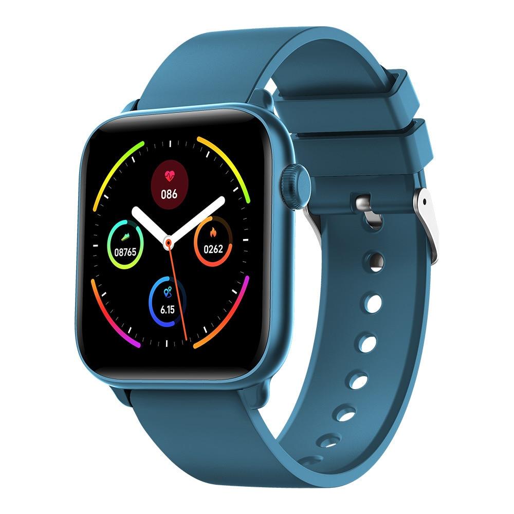 Reloj inteligente KW37 Pro IP68 para hombre, reloj inteligente deportivo con control de la temperatura, alarma, recordatorios, resistente al agua