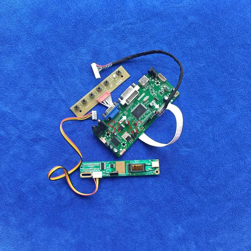عدة LVDS 30 Pin Fit B141PW01/B141PW02/B141PW03/LP141WP1 1440*900 DVI VGA HDMI-متوافق مع 1CCFL شاشة M.NT68676 لوحة تحكم