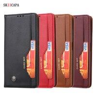 Для xiaomi Poco X3 NFC чехол Ретро Флип Магнитный кожаный чехол для xiaomi Poco X3 NFC глобальная версия кошелек слот для карт чехол-подставка